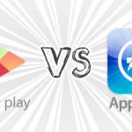 Google Play vs. App Store. Сравнительная статистика магазинов.